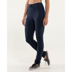 LULULEMON Skinny Will Pants Inkwell Blue Size 2